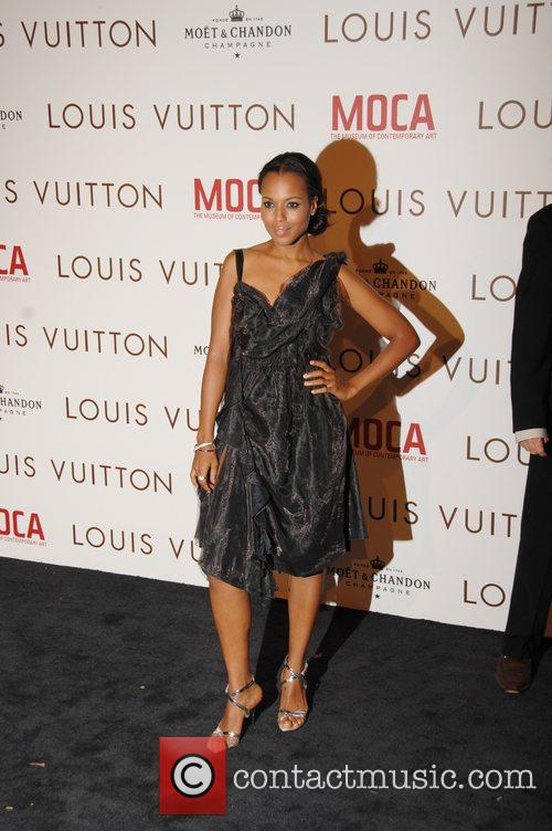 Kerry Washington Murakami Exhibition at the Geffen Contemporary...