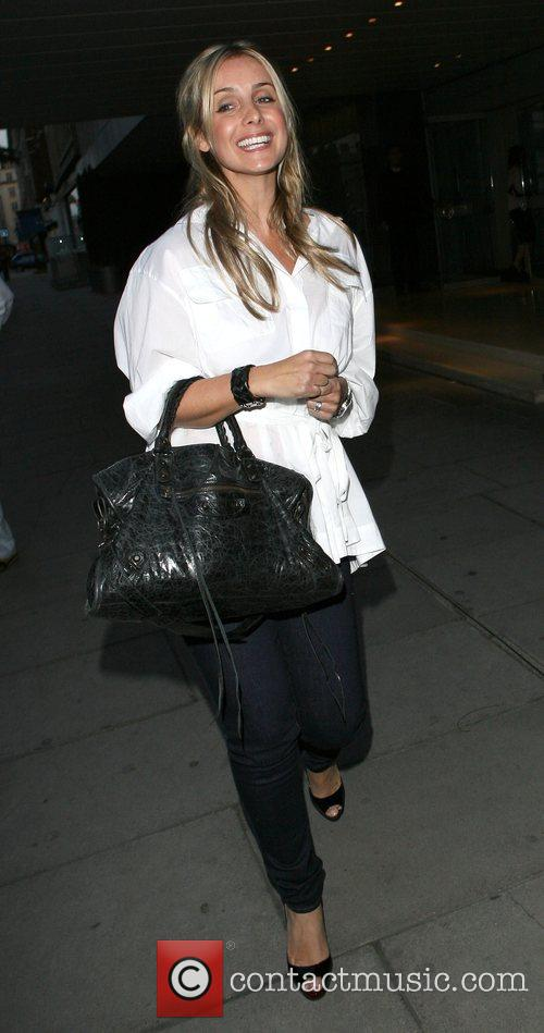 Louise Redknapp, Who Recently Announced She Is Pregnant and Leaving The Sanderson Hotel. 5