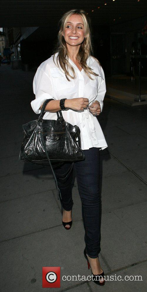 Louise Redknapp, Who Recently Announced She Is Pregnant and Leaving The Sanderson Hotel. 9