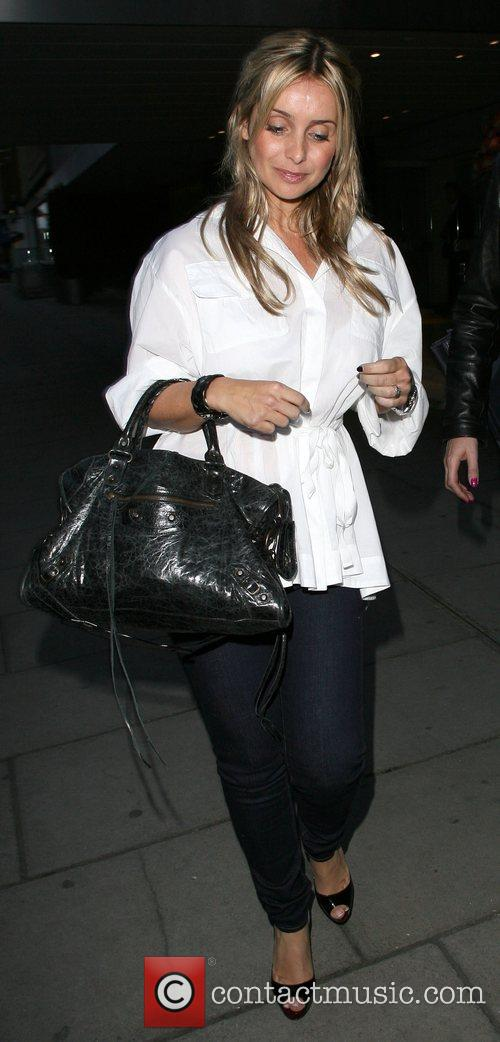 Louise Redknapp, Who Recently Announced She Is Pregnant and Leaving The Sanderson Hotel. 2