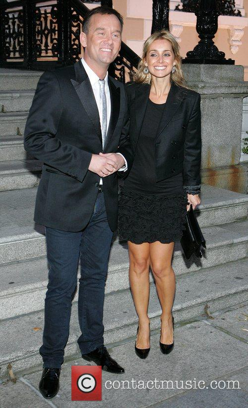 Brendan Courtney and Louise Redknapp Dundrum Town Centre...
