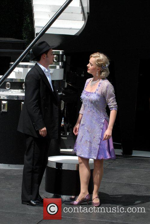 Performing in 'Lady Be Good' at the Open...