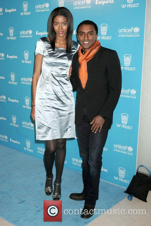 Gate Haile and Marcus Samuelsson 2008 UNICEF and...