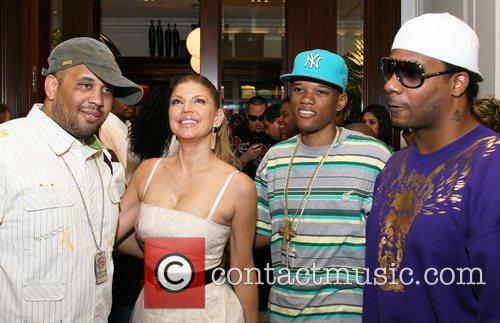 Fergie, Rapper Rich Boy and Polow Da Don...