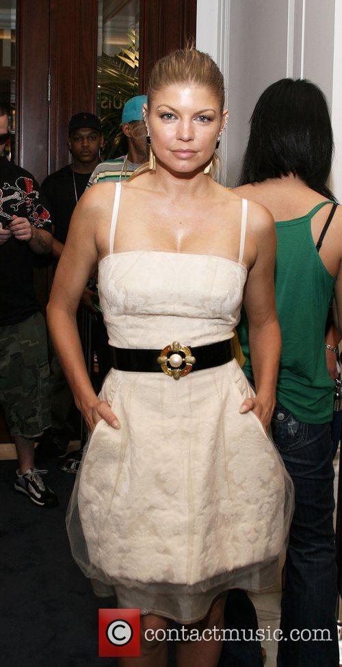 Fergie Benefit for Ludacris Foundation at Ralph Lauren,...