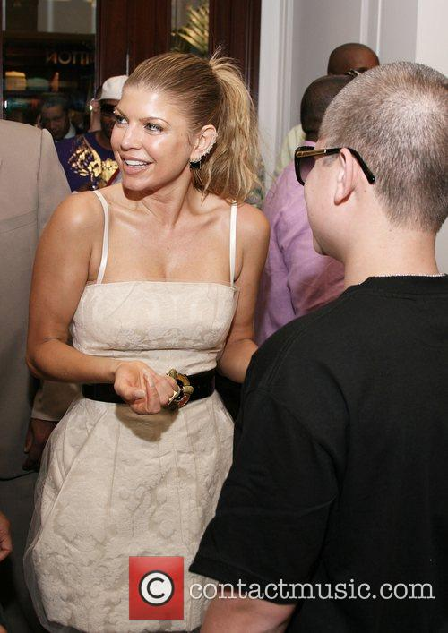 Fergie and Richie Rich Benefit for Ludacris Foundation...