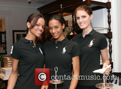 Hostesses Benefit for Ludacris Foundation at Ralph Lauren,...