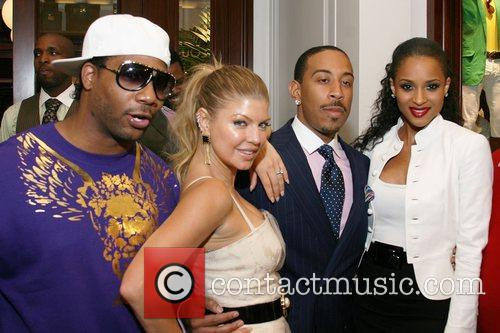 Producer Polow Da Don, Fergie, Rapper Ludacris and...