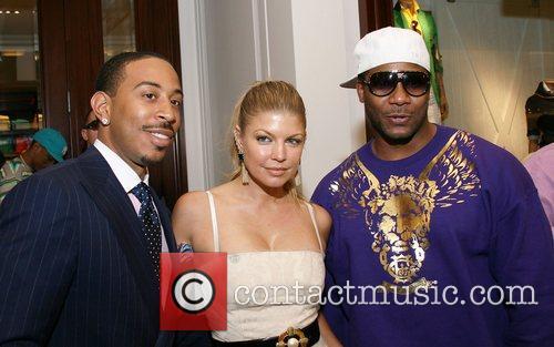 Rapper Ludacris, Pop Singer Fergie and Polow Da...