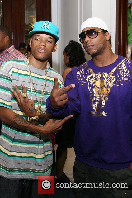 Rapper Rich Boy and Ludacris 4