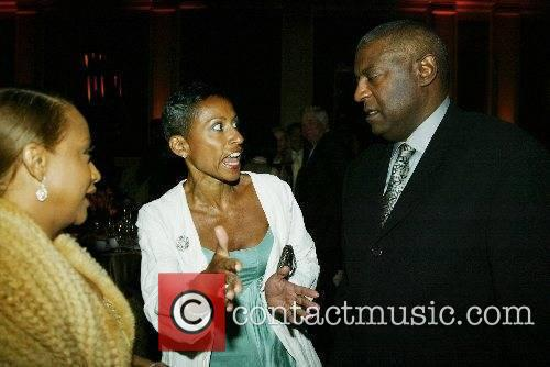 Jada Pinkett Smith's mother, Adrienne Banfield and guests...