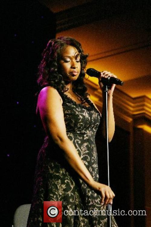 Jennifer Hudson performing at the Lupus Gala held...