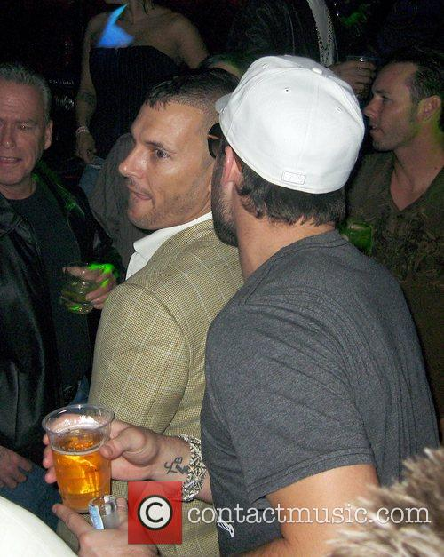 Kevin Federline and Brody Jenner At Lax At The Luxor Hotel 7