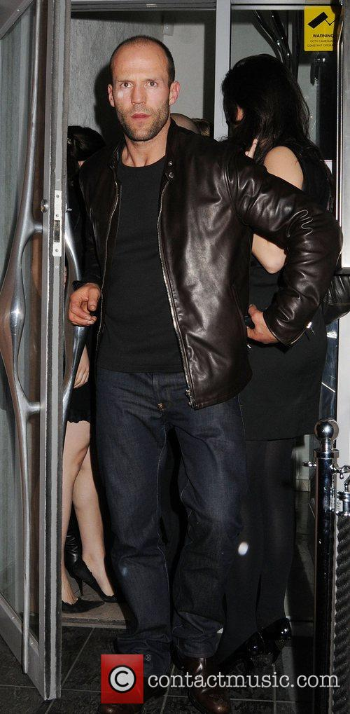 Jason Statham and Friends Leaving The Luxury British Club 2