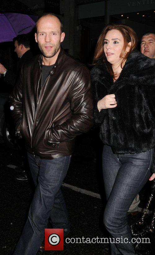 Jason Statham and Friends Leaving The Luxury British Club 8