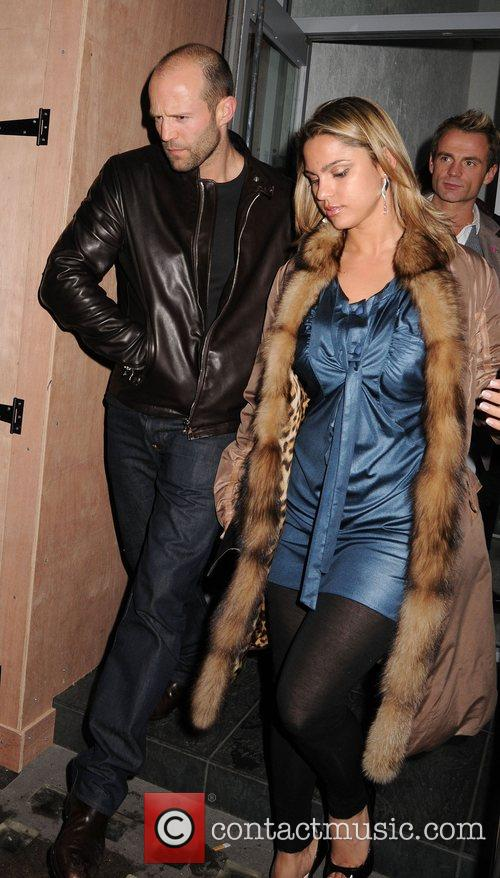 Jason Statham and Friends Leaving The Luxury British Club 4