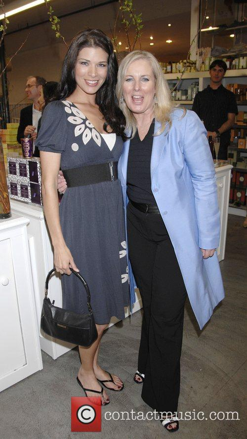 Adrienne Janic and Karen Ballou at the launch...
