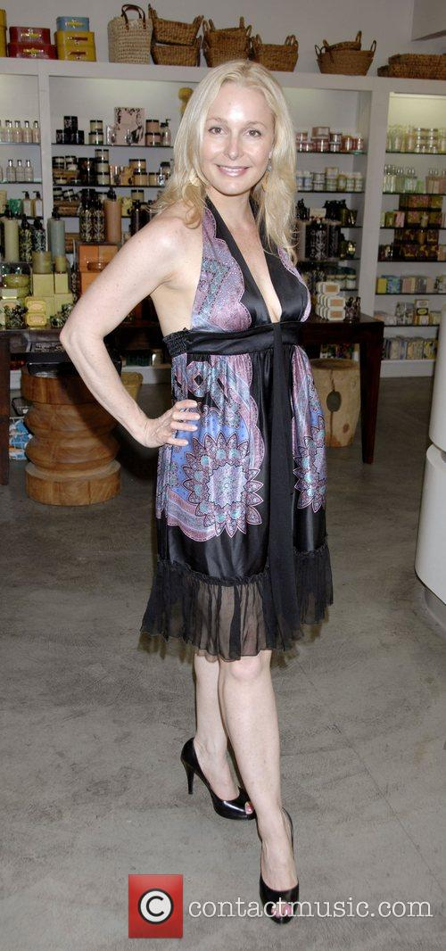 Elle Travis at the launch party of Luzern...