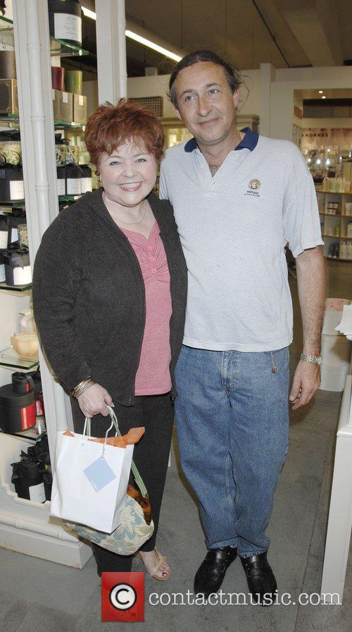 Patrika Darbo and Thierry Daubercies at the launch...