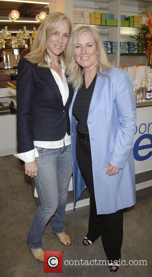 Rachelle Carson-Begley and Karen Ballou at the launch...