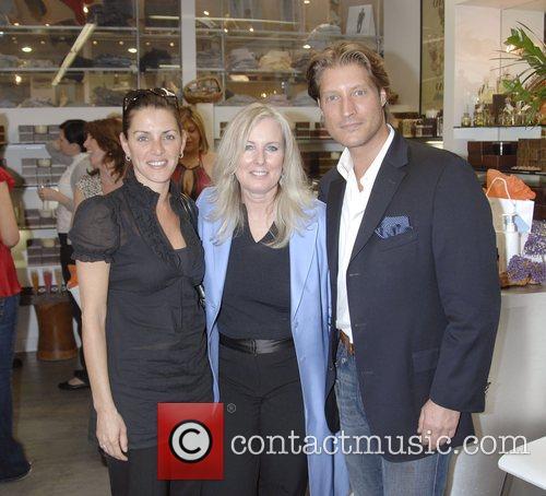 Sean Kanan, Karen Ballou and Friend 3