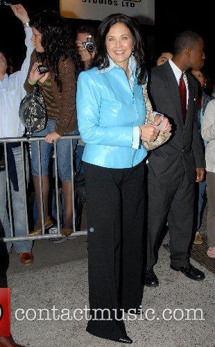 Lynda Carter arrives at ABC Studios for an...