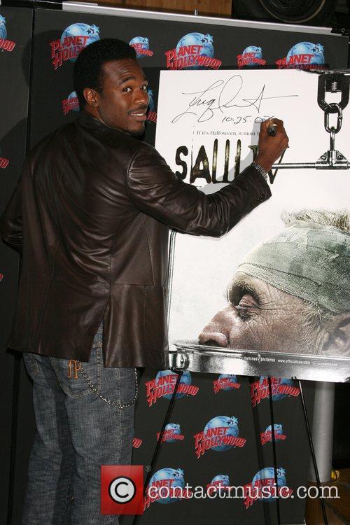 'Saw IV' star Lyriq Bent  promotes his...