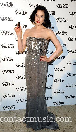 Dita Von Teese UK premiere of 'Lipteese' at...