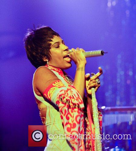 Macy Gray performing live in concert at the...