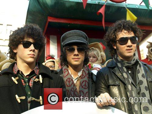 Jonas Brothers The 2007 Macy's Thanksgiving day parade...
