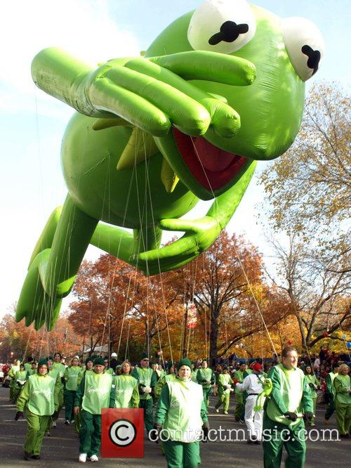 Kermit The Frog Balloon The 2007 Macy's Thanksgiving...