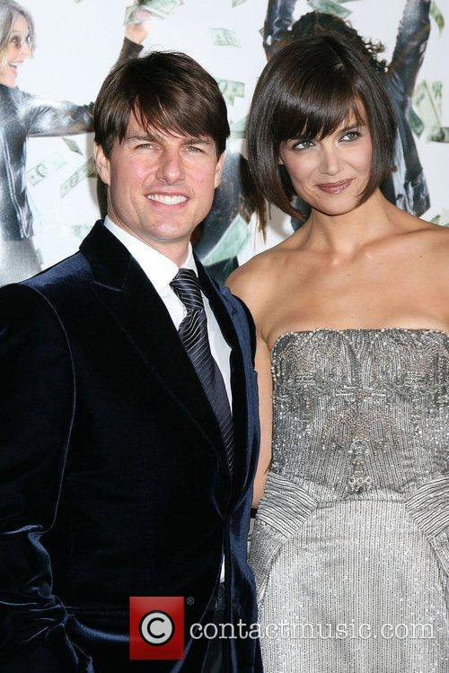 Tom Cruise and Katie Holmes 1