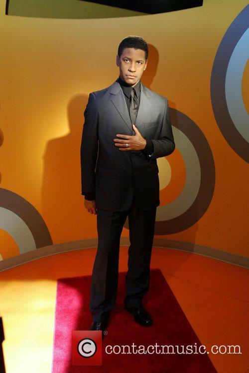 Denzel Washington Waxwork and Denzel Washington 3