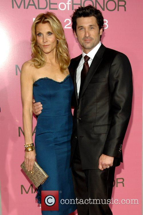 At the NY Premiere of Made of Honor