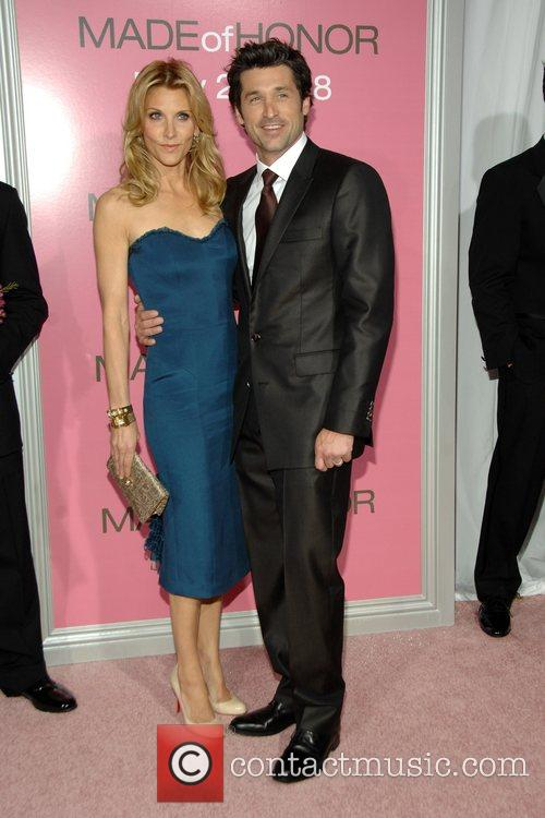 Patrick Dempsey and His Wife Jillian 7