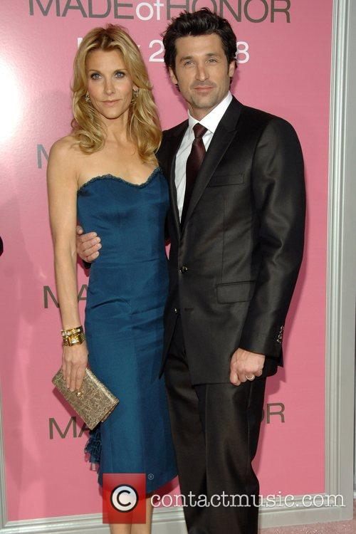 Patrick Dempsey and His Wife Jillian 5