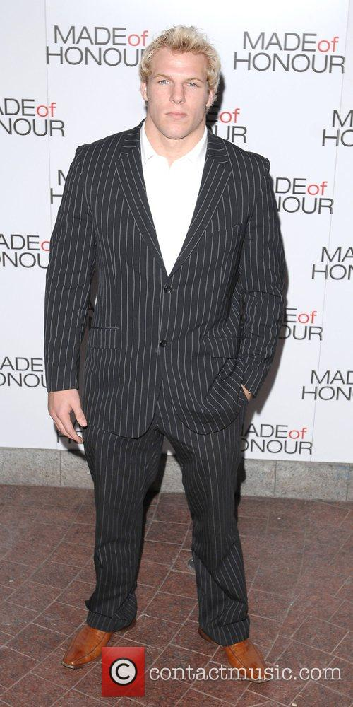 James Haskell UK premiere of 'Made Of Honour'...
