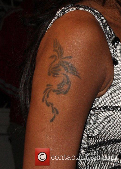 Mel B's aka Melanie Brown's tattoo  Madeo...