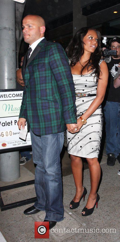 Stephen Belafonte and Mel B aka Melanie Brown...