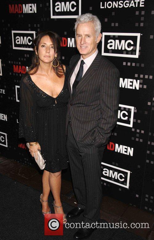 Talia Balsam and John Slattery 1