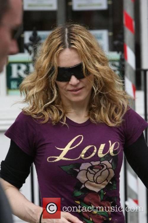 Madonna Leaving the gym London, England