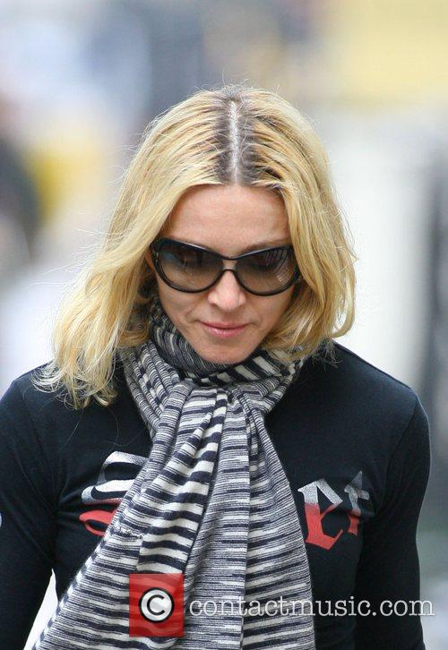 Madonna arriving at her gym London, England