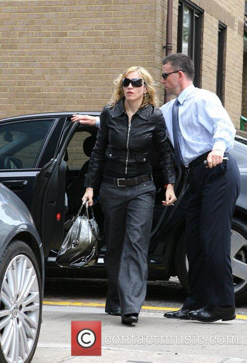 Arriving at a London recording studio where she...