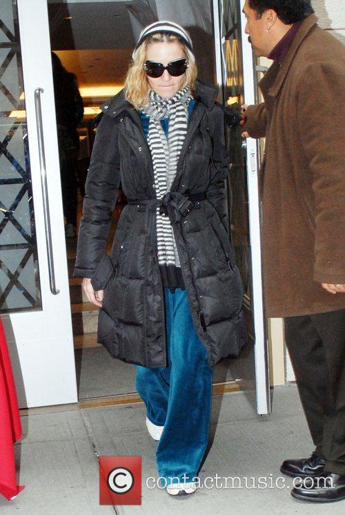 Madonna leaving 'The Kabbalah Centre'  New York...