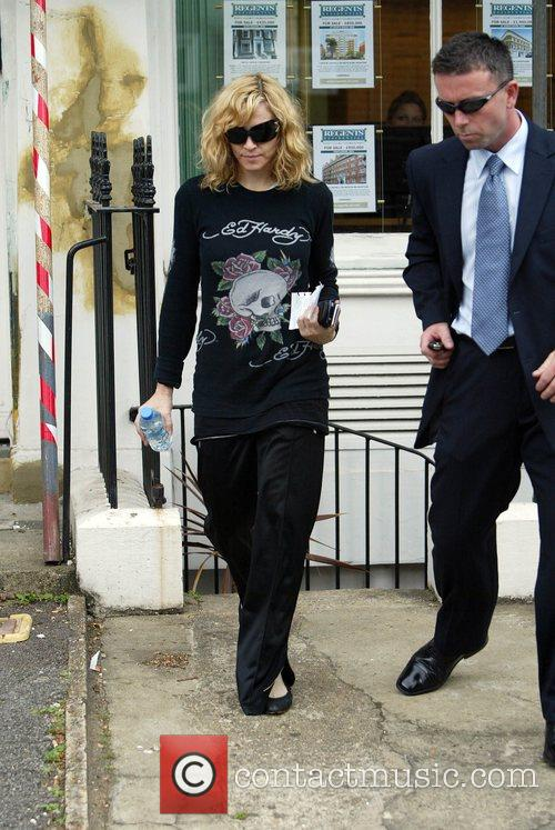 Madonna Leaving the gym