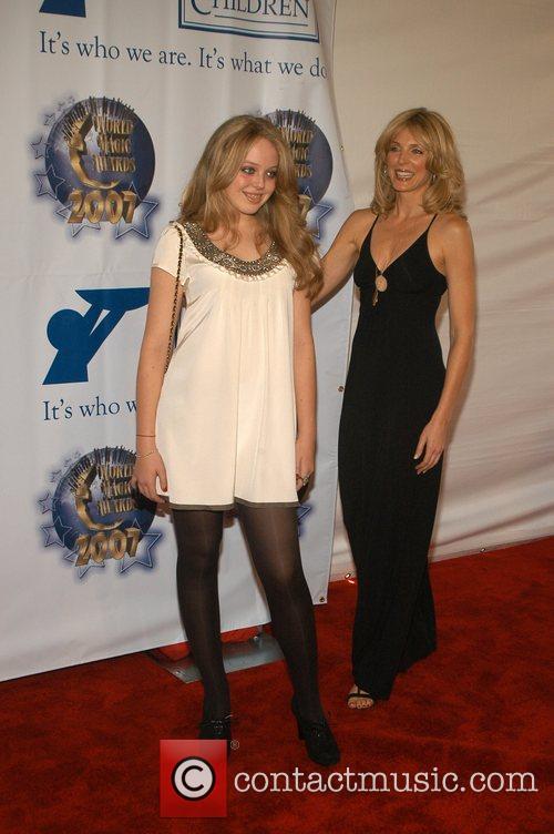 Tiffany Trump, Marla Maples 2007 World Magic Awards...