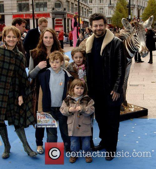 Andy Serkis and family 'Mr Magorium's Wonder Emporium'...