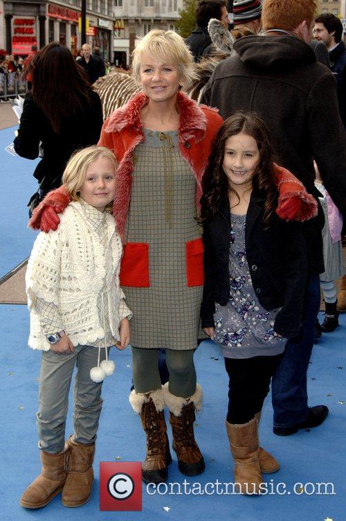 Lisa Maxwell and family 'Mr Magorium's Wonder Emporium'...