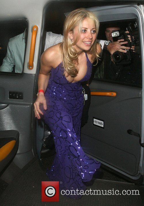 Holly Branson Leaving Mahiki Club 4