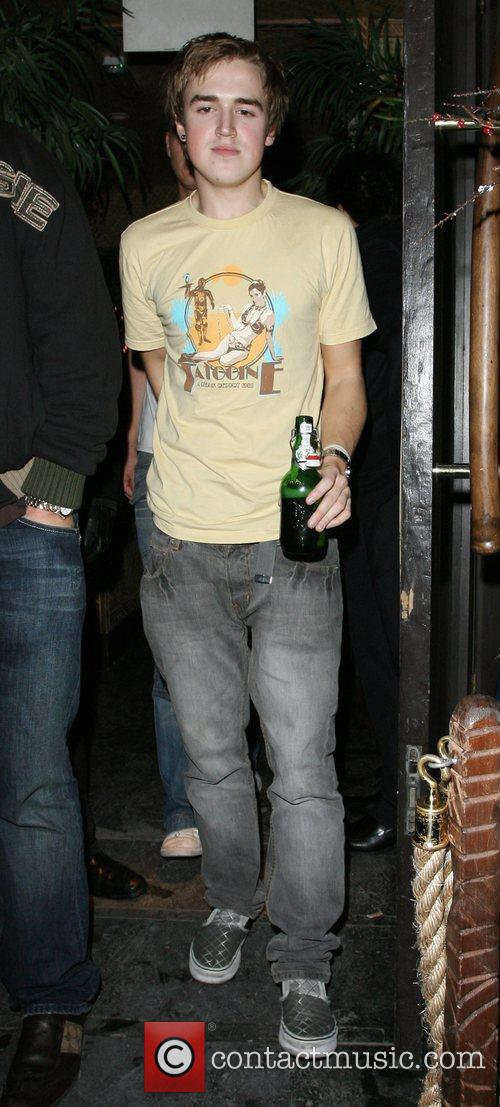 Tom Fletcher of boy band McFly at Mahiki